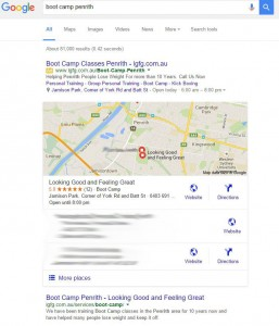 Google Maps Optimisation Results