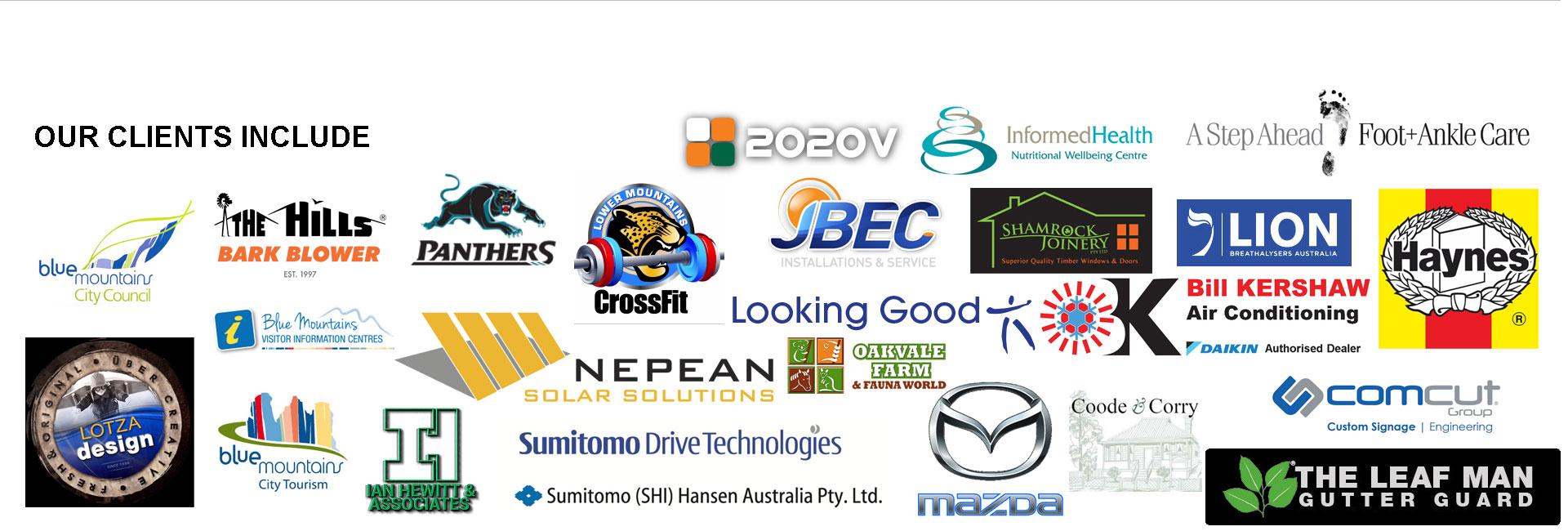 Netpresence Australia Clients